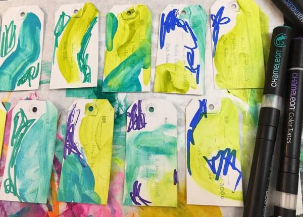 Chameleon Pen scribbles