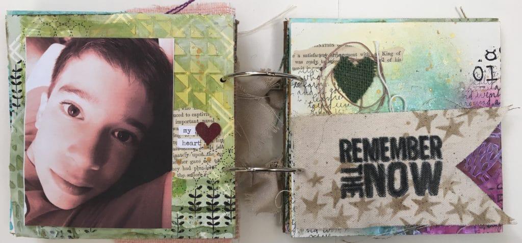 Kim Schofield, TCW, Canvas Corp, Mini Album, Page 6