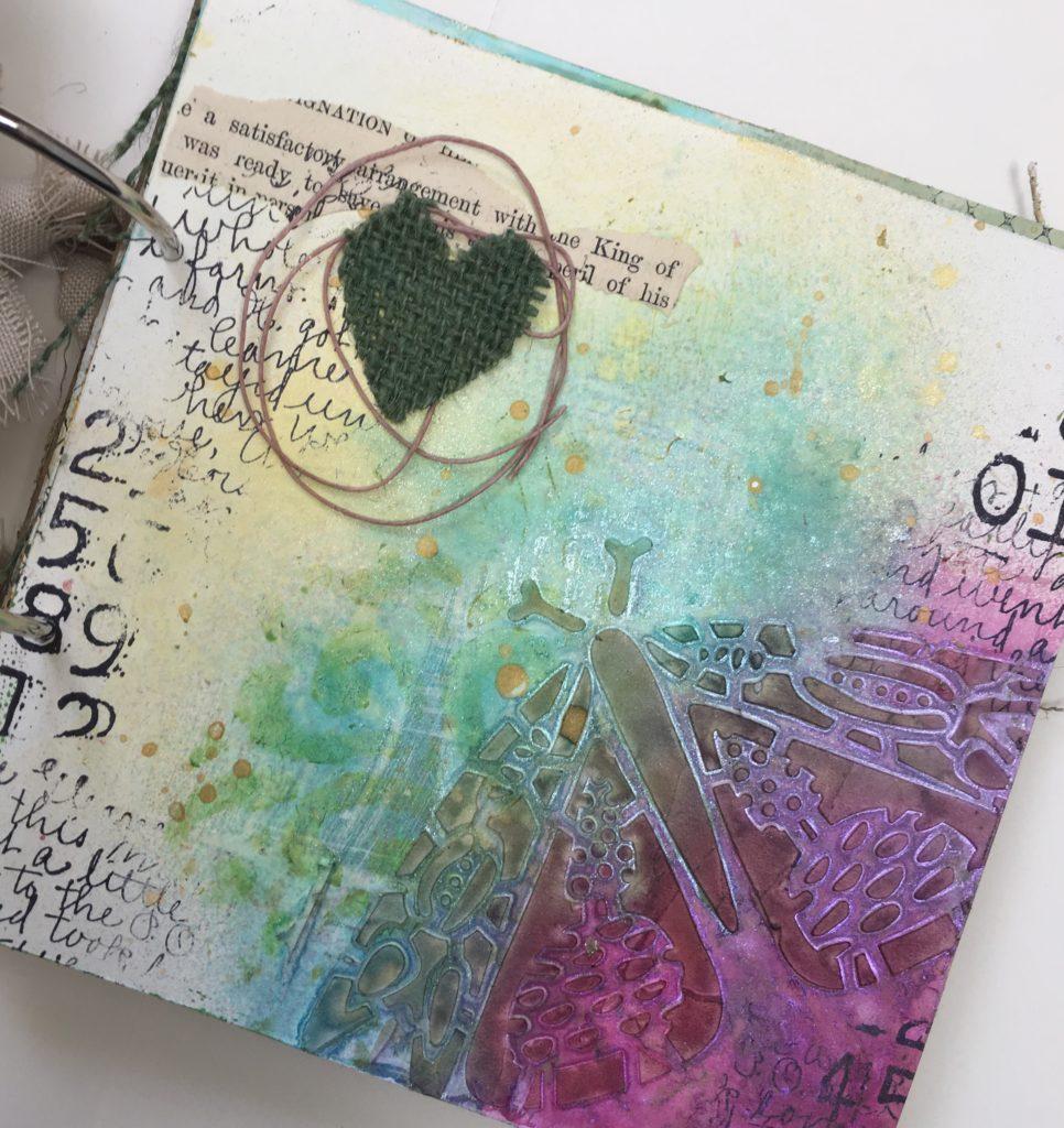 Kim Schofield, TCW, Canvas Corp, Mini Album, Page 6A