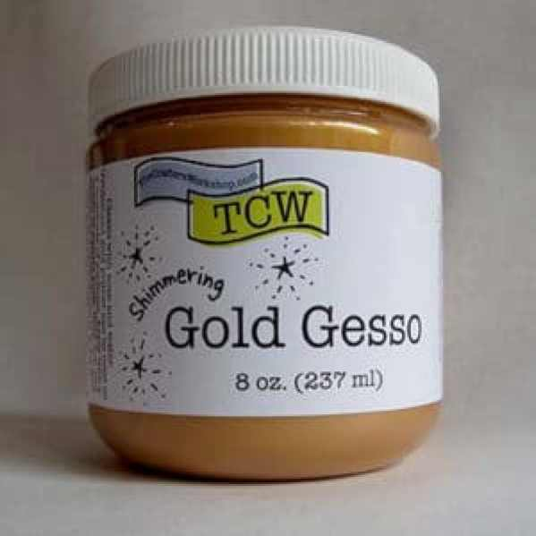 The Crafter's workshop Gold Gesso