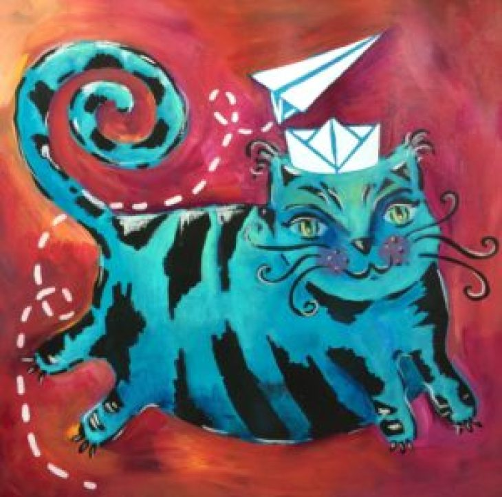 THE Crafter's Workshop : Flying Cat - by ART BY MARLENE photo 7