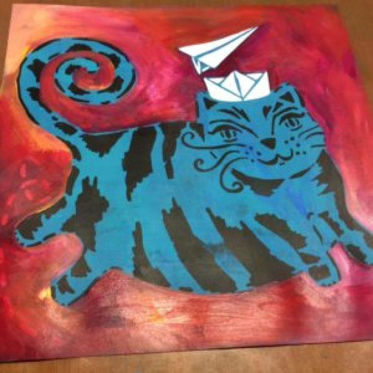 THE Crafter's Workshop : Flying Cat - by ART BY MARLENE photo 5
