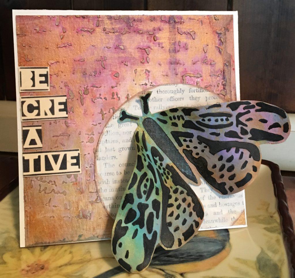 Kim Schofield_Folkart Moths_Mixed Media Card_Full