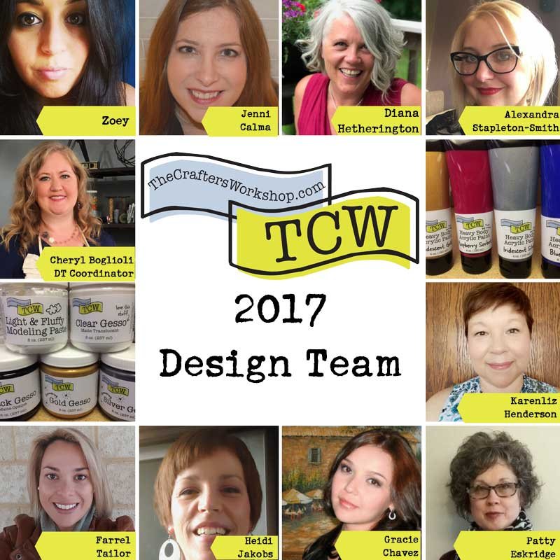 The Crafter's Workshop 2017 Design Team