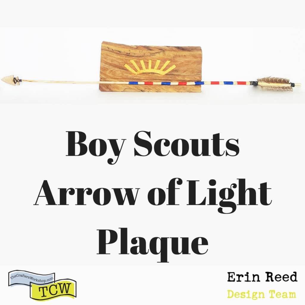 boy scout plaque by erin reed