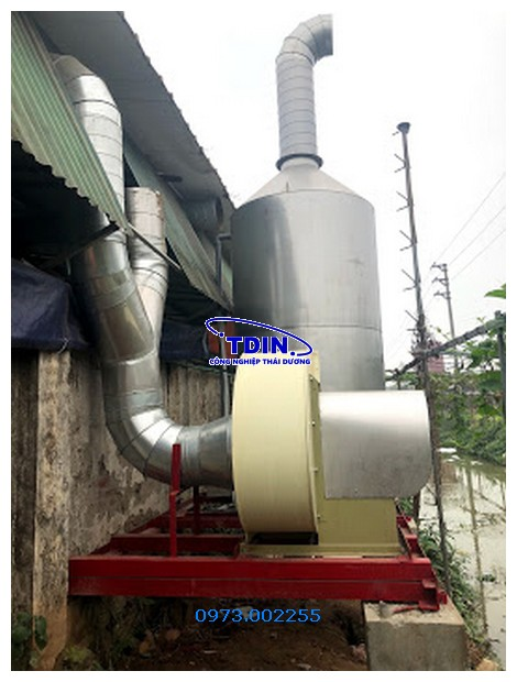 tháp xử lý khí thải SUS304