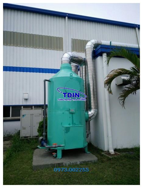 tháp xử lý khí thải tdin