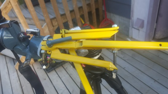 RA clutch / fine adjustment system