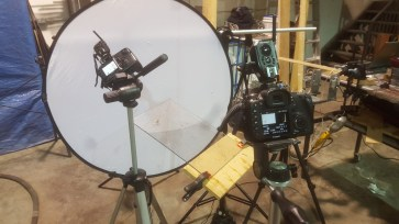 Imaging using two cameras