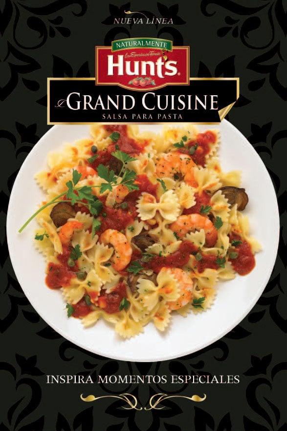 BTL Receta Hunt's Grand Cuisine