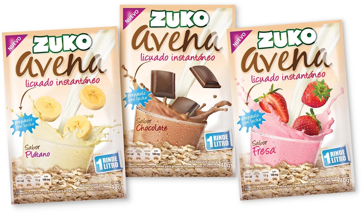Zuko Avena 3 sabores