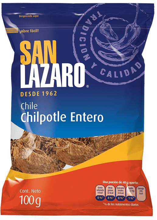 Diseño de Empaque San Lazaro Chile Chilpotle