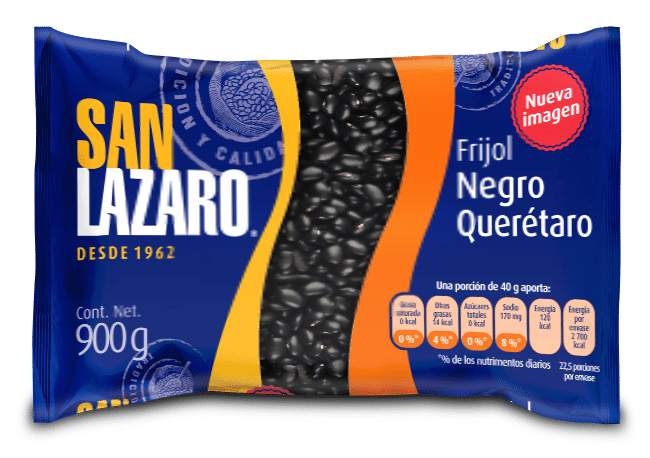 Diseño de Empaque San Lazaro Frijol Negro