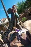 Prince Eric's ship, near the entrance to Ariel's Grotto - a perfect place for our little mermaid to strike a pose!