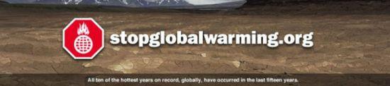 Stop Global Warming Dot Org