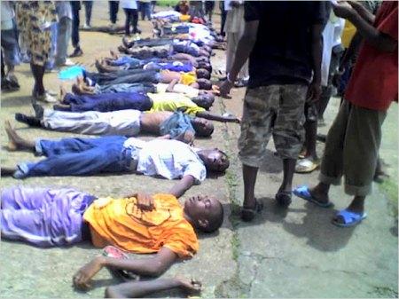 Conakry, Guinea Sept. 28, 2009