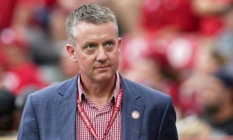 Alabama AD Greg Byrne at Bryant-Denny Stadium during 2019 season
