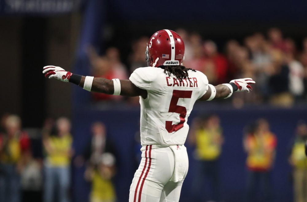 "Alabama players refer to DB Shyheim Carter as ""the smartest"" at his position"