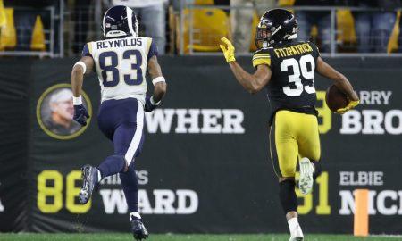Minkah Fitzpatrick scores pick-six versus Rams in 2019