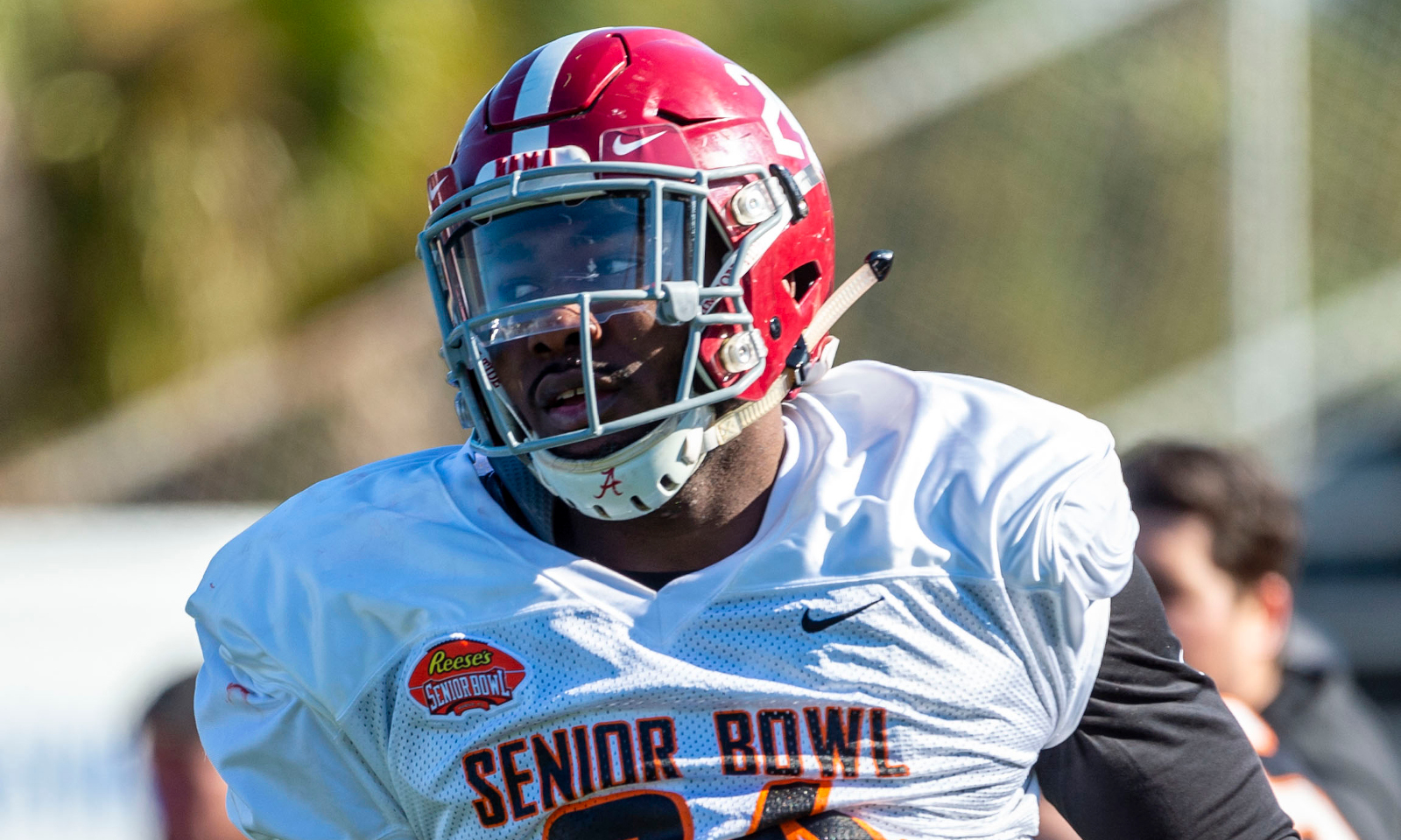 Former Tide LB Terrell Lewis creating attention at Senior Bowl practice