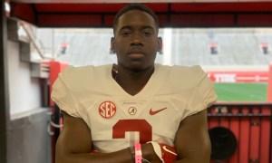 Alabama 2021 LB commit Ian Jackson