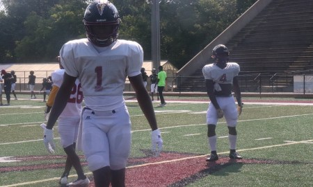 5-Star ATH Ga'Quincy McKinstry prepares for scrimmage