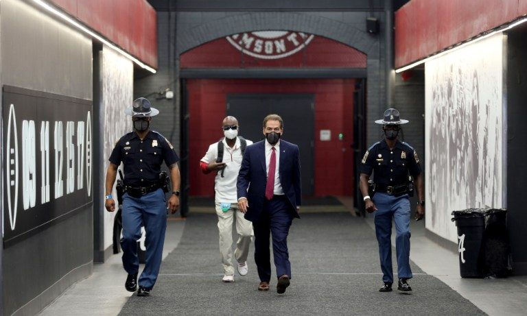 Sources: Nick Saban is in no hurry to finalize his staff, but two huge names have emerged for vacant spots