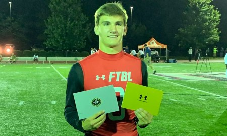 Ty Simpson gest inite to Under Armour Game