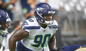 Jarran Reed on the field for Seattle Seahawks in 2019 season