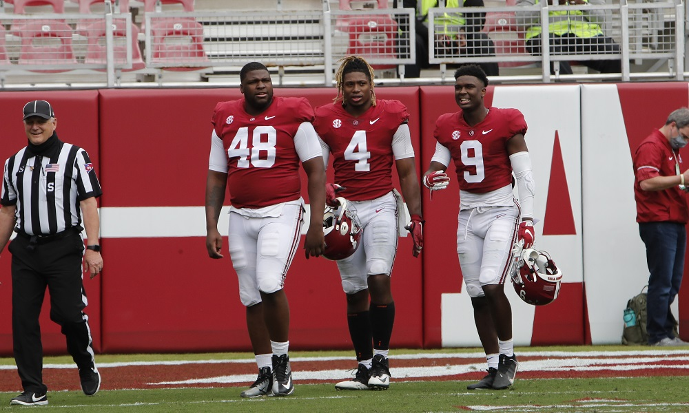 Alabama defensive players ready for A-Day