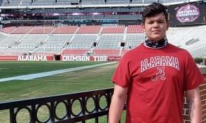 Dayne Shor visiting Alabama