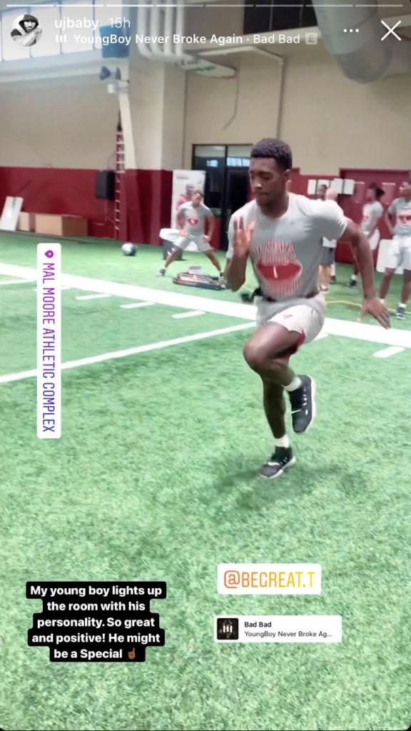 Terrion Arnold going through summer workouts at Alabama