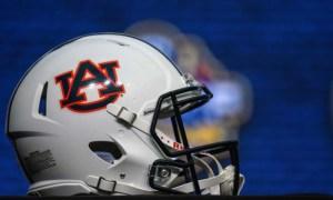 Photo of an Auburn helmet