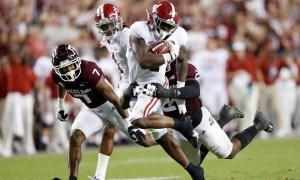 Alabama running back Brian Robinson Jr.