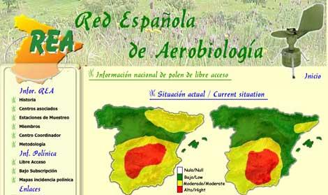 Red Española de Aerobiología
