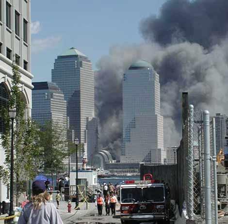 Atentados del 11 de Septiembre, Nueva York.