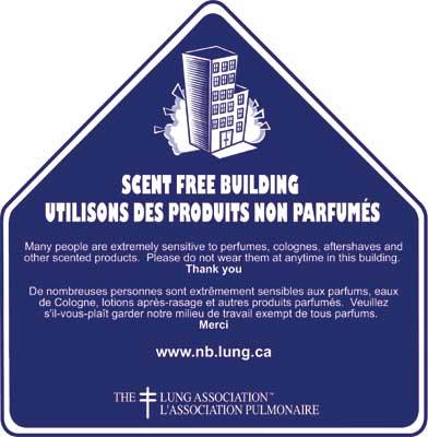 Edificio sin aromas