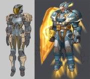 _Futuristic_soldier_sketche