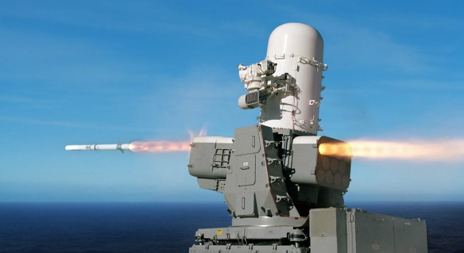 The U.S. Navy's Supersonic SeaRAM Missile System Could be a Game ...
