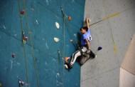 Samsun'da spor tırmanış il birinciliği yapıldı.