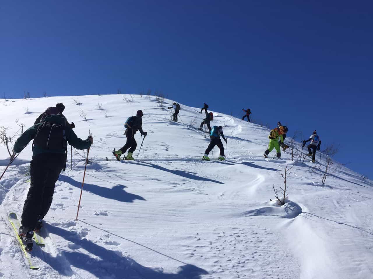 Dağ Kayağı Temel Eğitimi Muş'ta yapıldı.