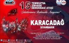 15 Temmuzda 15 Zirvede - Karacadağ