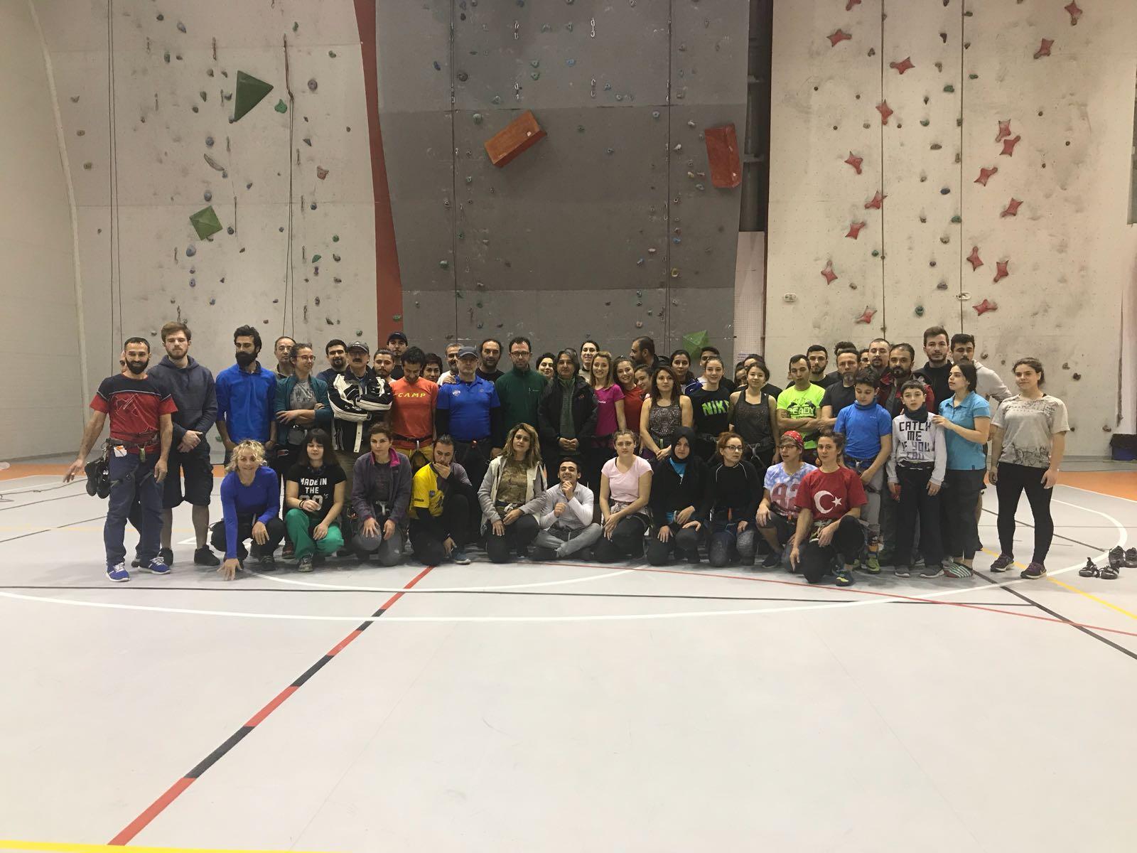 Spor Tırmanış Antrenör ve Temel Eğitim Kampları Nevşehir'de devam ediyor.