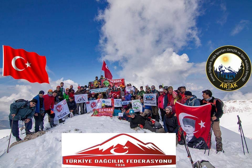 3. Barla Dağı Dağcılık Şenliği ve Zirve Tırmanışı Daveti