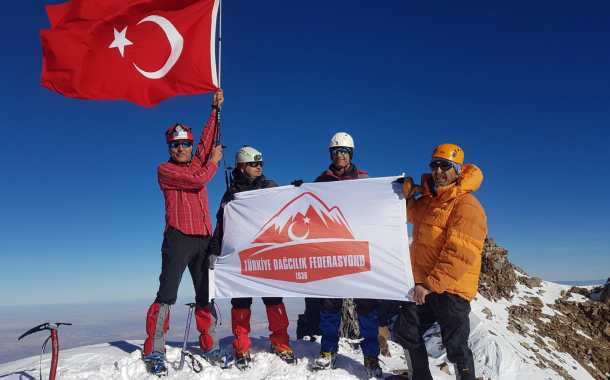 29 Ekim Erciyes Dağı Cumhuriyet Tırmanışı Başvurusu