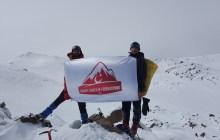 Süphan Dağı Kış Tırmanışı gerçekleştirildi.
