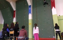 Trabzon Okul Sporları Spor Tırmanış Yarışmaları tamamlandı.