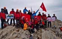 PRODOSS Karanfil Dağı zirve tırmanışını gerçekleştirdi.