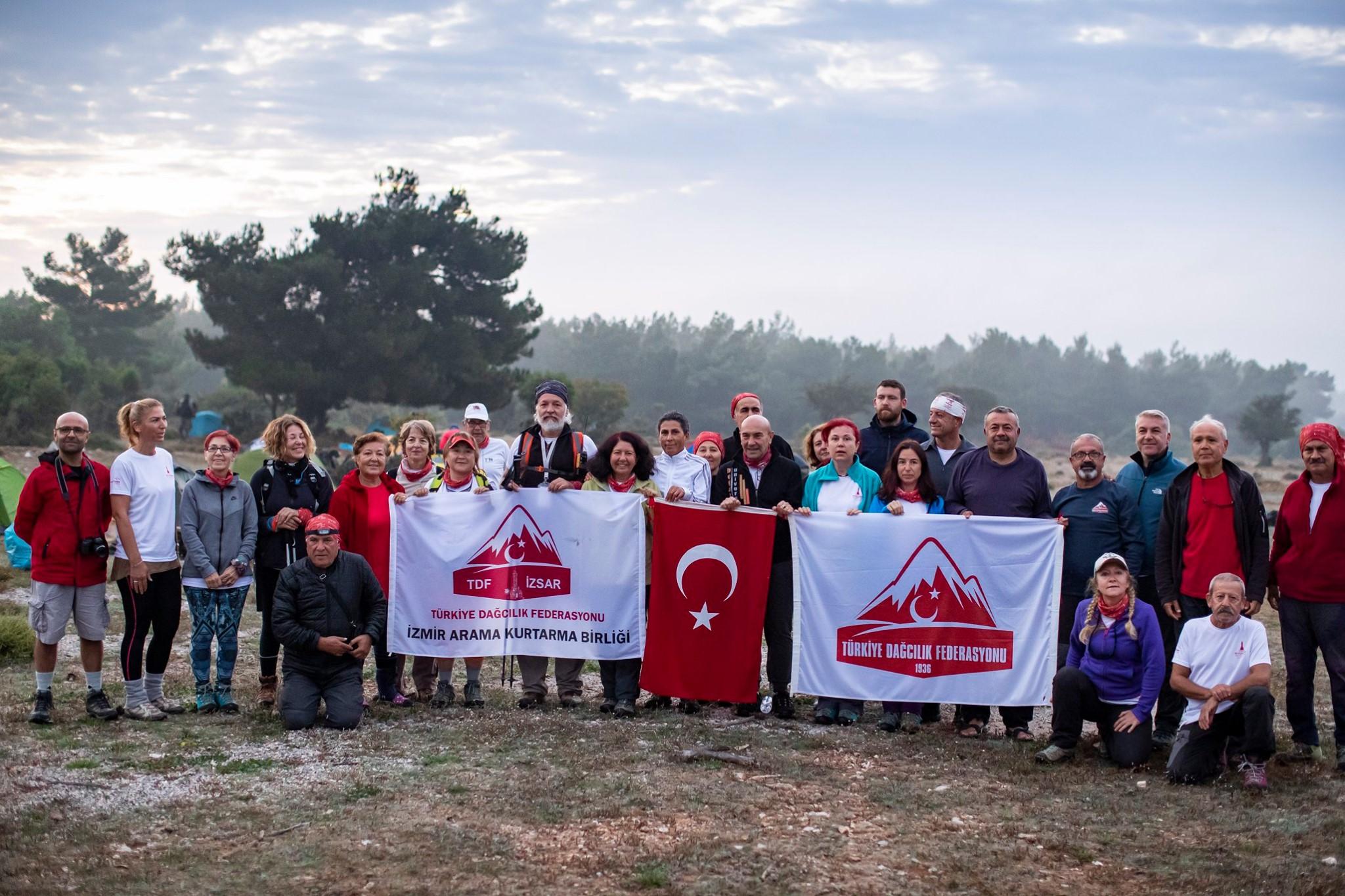 Efes Mimas Yolu Yürüyüş Faaliyeti tamamlandı.