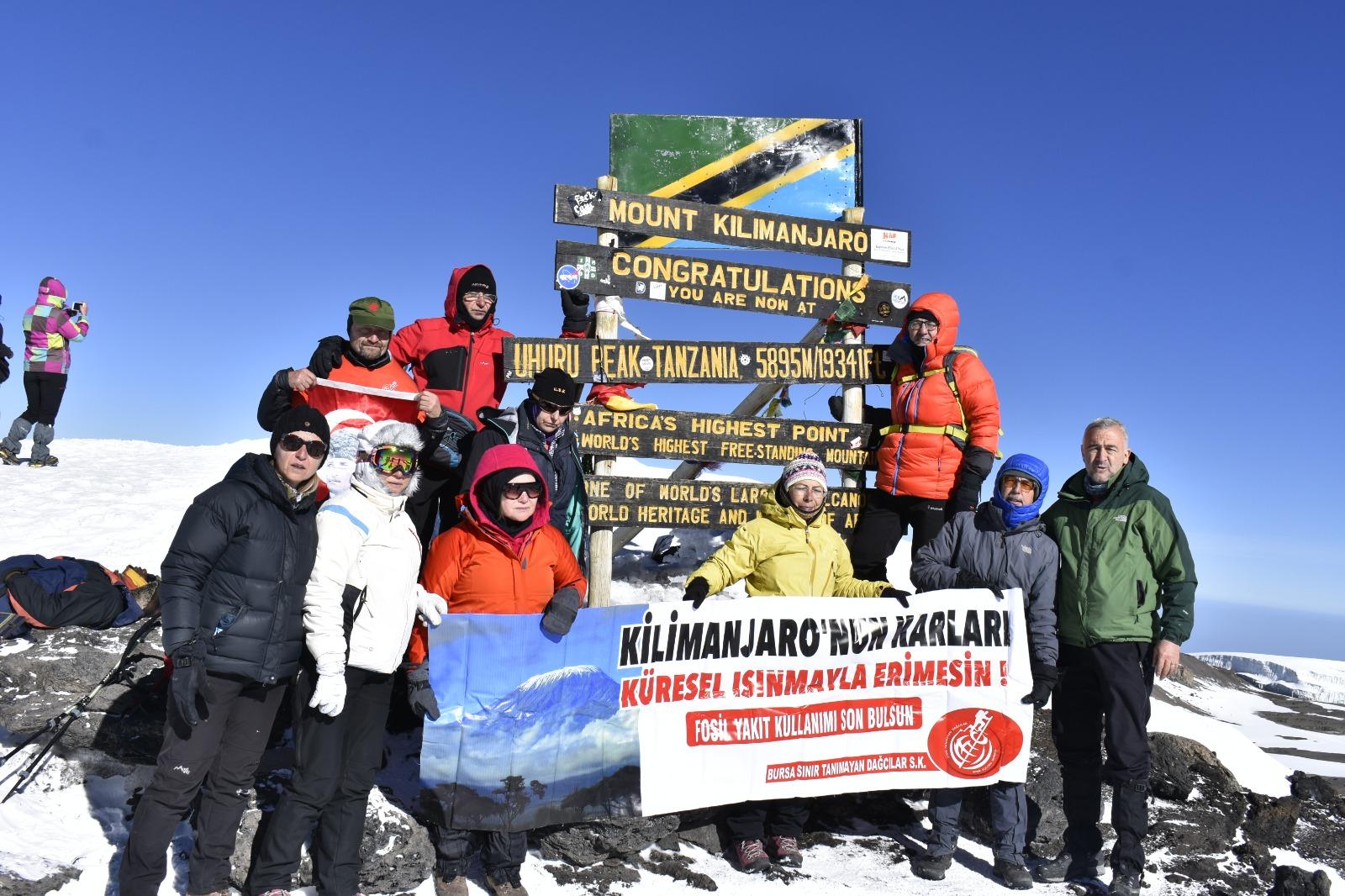 Kilimanjaro  Uhuru Peak Zirve Tırmanışı